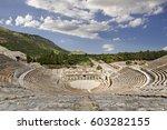 Amphitheatre In The Roman Ruin...