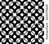 vector monochrome seamless... | Shutterstock .eps vector #603293468