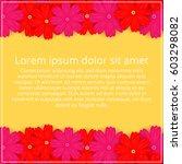 Greeting Card With Colored...