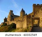 Castle At Carcassonne  France...