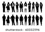 businessman and businesswoman... | Shutterstock .eps vector #60332596