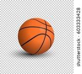 Vector Realistic Basketball...