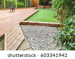 a section of a residential... | Shutterstock . vector #603341942