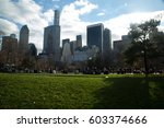new york skyline | Shutterstock . vector #603374666