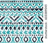 seamless geometric pattern.... | Shutterstock .eps vector #603389045