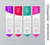 infographic templates for... | Shutterstock .eps vector #603394322