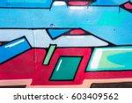 art under ground. beautiful... | Shutterstock . vector #603409562
