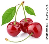 Three Sweet Red Cherry Berry...