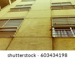 vintage building background | Shutterstock . vector #603434198