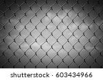black and white image of a...   Shutterstock . vector #603434966
