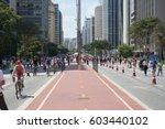 sao paulo  brazil   october 23  ... | Shutterstock . vector #603440102