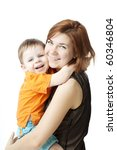 images of happy mother with a... | Shutterstock . vector #60346804