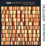 bronze gradient pattern... | Shutterstock .eps vector #603473762