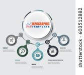 design template  modern... | Shutterstock .eps vector #603512882