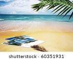 Tropic Beach Theme Collage...