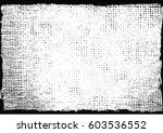 grunge urban texture.overlay... | Shutterstock .eps vector #603536552