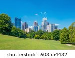 Midtown atlanta skyline from...
