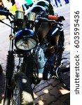 motorcycle  | Shutterstock . vector #603595436