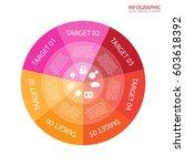 vector circle arrows... | Shutterstock .eps vector #603618392