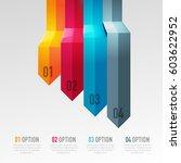 vector abstract 3d digital... | Shutterstock .eps vector #603622952
