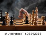 close up image of situation in... | Shutterstock . vector #603642398