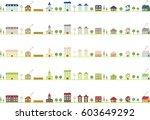city landscape | Shutterstock .eps vector #603649292