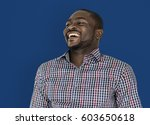 african man smiling happiness... | Shutterstock . vector #603650618