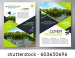 business brochure. flyer design....   Shutterstock .eps vector #603650696