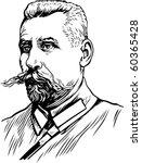 vector portrait | Shutterstock .eps vector #60365428