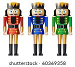 nutcracker in three variations | Shutterstock .eps vector #60369358