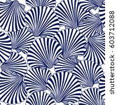 vector seamless pattern with... | Shutterstock .eps vector #603712088