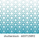 geometric triangle halftone... | Shutterstock .eps vector #603715892