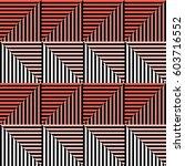 seamless vector abstract... | Shutterstock .eps vector #603716552