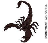 vector cartoon clip art mascot... | Shutterstock .eps vector #603720416