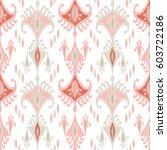 ethnic boho seamless pattern....   Shutterstock .eps vector #603722186