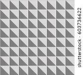 seamless vector abstract... | Shutterstock .eps vector #603736622