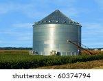 Grain Ben On An Iowa Farm With...