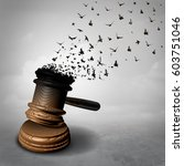 amnesty concept and law decline ... | Shutterstock . vector #603751046