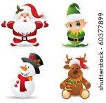 christmas elements | Shutterstock .eps vector #60377899