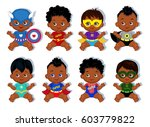 illustration group of cute... | Shutterstock . vector #603779822
