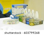 stomatology sterile equipment | Shutterstock . vector #603799268