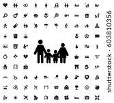 family icon illustration... | Shutterstock .eps vector #603810356