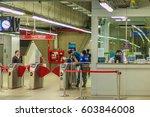 bangkok  thailand   february 21 ... | Shutterstock . vector #603846008