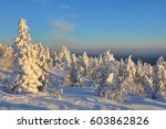 """sunset on the """"ghosts"""" of monts ... 
