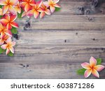 close up brown wood textured... | Shutterstock . vector #603871286
