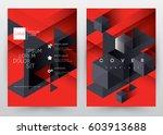 cover design vector template... | Shutterstock .eps vector #603913688