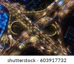 the road. infinity. | Shutterstock . vector #603917732
