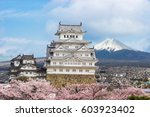 one of japan's premier historic ...   Shutterstock . vector #603923402