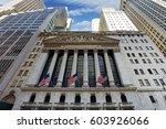 new york city   april 5  new...   Shutterstock . vector #603926066