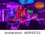 bangkok  thailand   february 21 ... | Shutterstock . vector #603933722